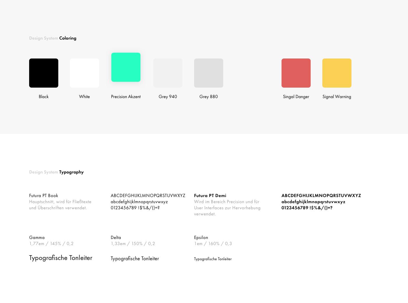 Design System Coloring