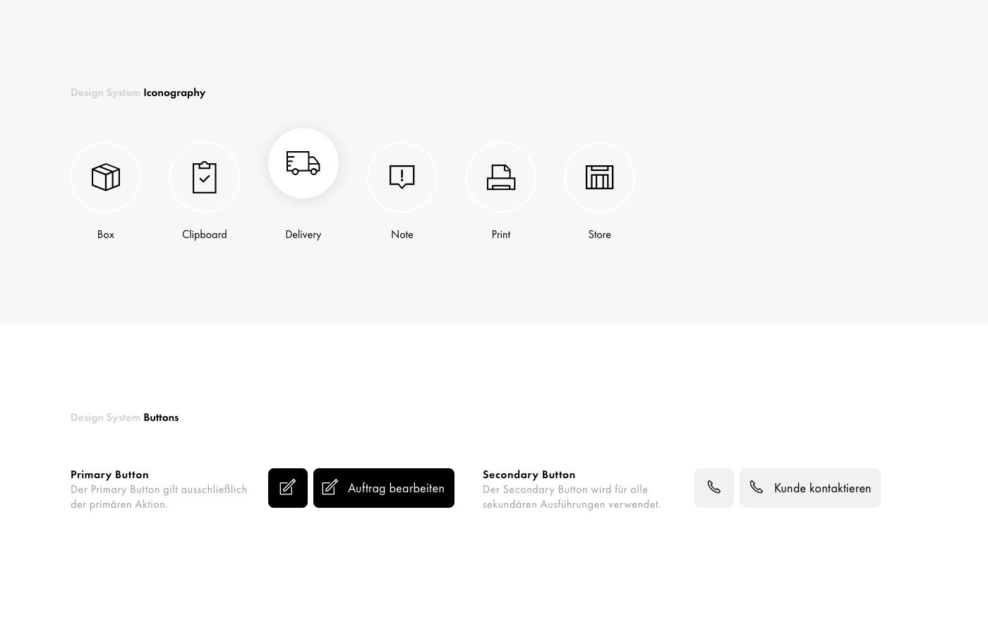 Design System Iconography